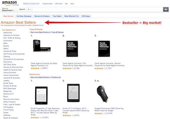 amazon bestseller Startup #5: Checkout +1   why you must test your best business idea within a week